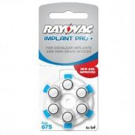 Батарейки для процессоров кохлеарных имплантов Rayovac Cochlear