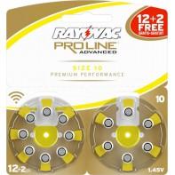 Батарейки 10 для слуховых аппаратов (12шт. + 2шт. БЕСПЛАТНО)