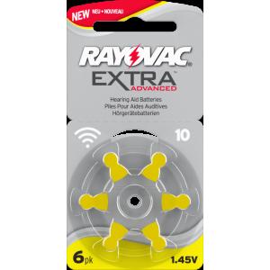 Батарейки Widex N 10 для слуховых аппаратов