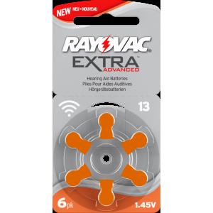 Батарейки для слухового аппарата типа 13