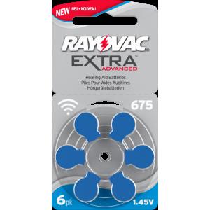 Батарейки 675 для слухового аппарата