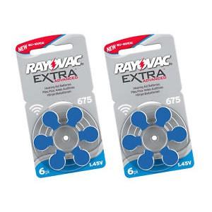 Батарейки для слуховых аппаратов №675 (12 шт.)