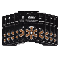 Батарейки Widex 312 для слуховых аппаратов (60 шт.)